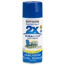 Rust-Oleum 249120 Painter's Touch Multi Purpose Spray Paint, 12-Ounce, Brilliant Blue