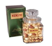 Koeze Mixed Nuts with Macadamias - 20 oz. Gift Jar - Contains: Colossal Cashews, Southern Pecans, White Macadamias and California Almonds