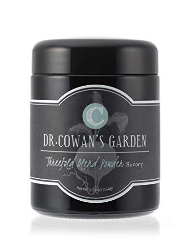 Dr. Cowan's Garden Threefold Savory Vegetable Powder, Made in the USA, 50 Servings