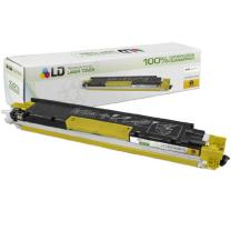 LD Remanufactured Toner Cartridge Replacement for HP 126A CE312A (Yellow)