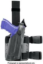 Safariland 6304 ALS Tactical Leg Holster, OD Green, Glock 17/22 with ITI M3