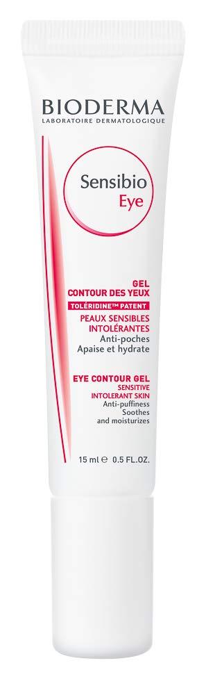 Bioderma - Sensibio - Eye Contour Gel - Moisturizing and Anti Puffiness - Skin Soothing - for Sensitive Skin - 0.5 fl.oz.