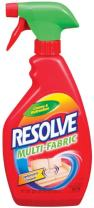 Resolve Upholstery Cleaner & Stain Remover, 44 oz (2 Cans x 22 oz), Multi-Fabric Cleaner