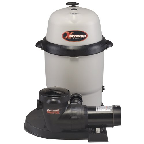Hayward CC100922S XStream 1 HP Dual-Speed Above-Ground Pool Filter Pump System