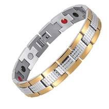 Bracelet for Men Stainless Steel 4 Element