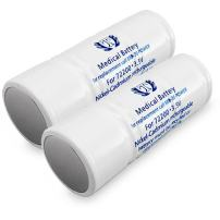2 Pack Banshee Replacement for Welch Allyn 72200 Battery Fits Otoscope Handle 71000 71010 71015 71020 71050 71051 71054 71055 71670