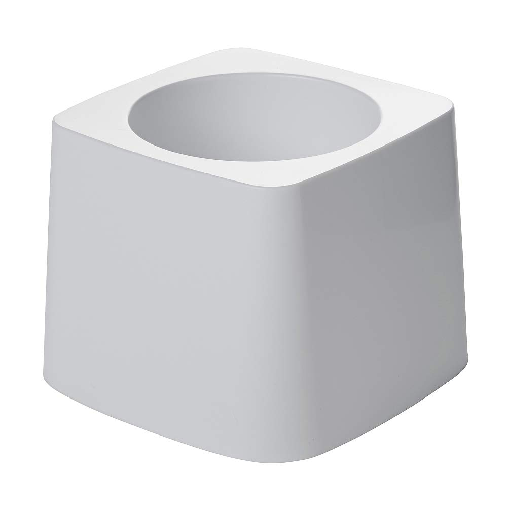 Rubbermaid FG631100 White 5-Inch Toilet Bowl Brush Holder for FG6310 Brush