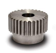 "Boston Gear YD135/8 Spur Gear, Steel, Inch, 12 Pitch, 0.625"" Bore, 1.250"" OD, 1.000"" Face Width, 13 Teeth"