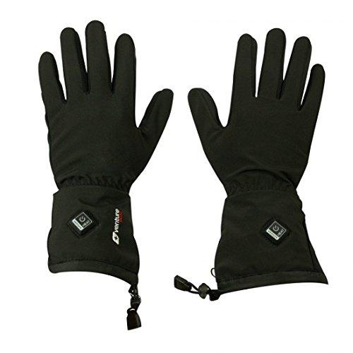 VentureHeat Avert Unisex-Adult 7.4V Battery Heated Glove Liner (Black, X-Small)