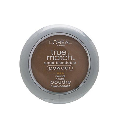 L'Oreal Paris True Match Super-Blendable Powder, Cappuccino, 0.33 oz.