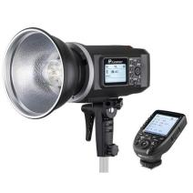 Flashpoint XPLOR 600 HSS TTL Battery-Powered Monolight with Built-in R2 2.4GHz Radio Remote System - Bowens Mount (AD600 TTL) with R2 Pro Transmitter for Fujifilm