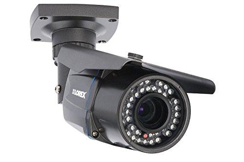 Lorex Weatherproof Indoor/Outdoor Home Surveillance 1080P Security Bullet Camera w/Long Range Color Night Vision & 3X Motorized Zoom