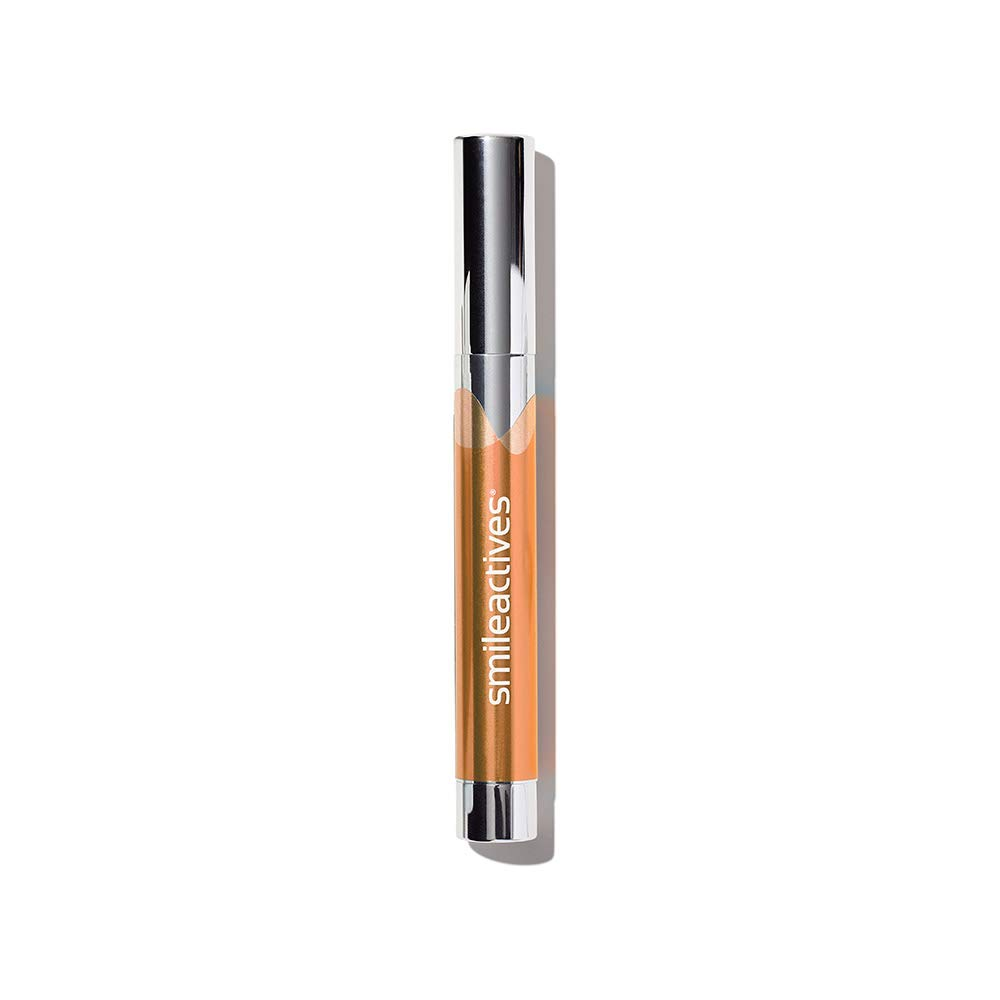 Smileactives – Advanced Teeth Whitening Pen – Hydrogen Peroxide Treatment with Orange Ice Flavor – 0.11 Ounce