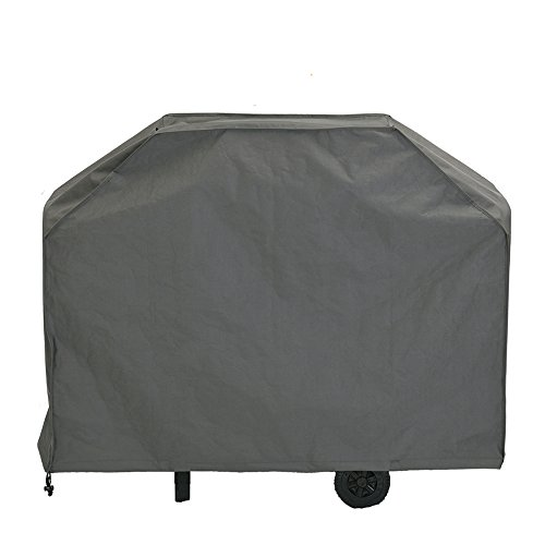 Patio Watcher Grill Cover, Extra Large 71-inch BBQ Cover Waterproof, Heavy Duty Gas Grill Cover Campatible with Weber,Brinkmann,Char Broil,Holland and Jenn Air-Grey