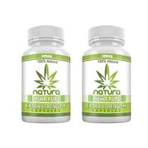 QFL Hemp Oil Capsules for Pain, Anxiety & Stress Relief - 300mg - 100% Organic Hemp Extract - Natural Anti-Inflammatory, Joint Support Helps with Better Sleep & Mood - Grown and Made in USA - 30 Caps