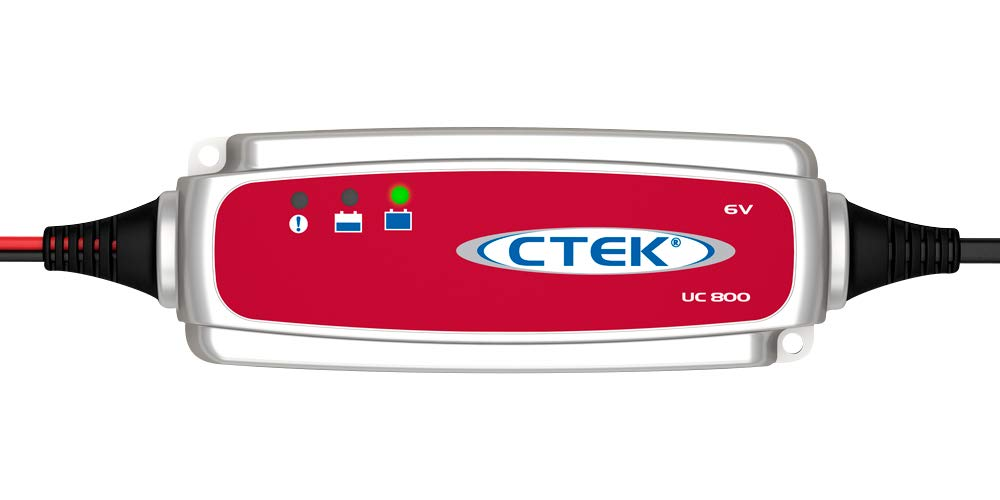 CTEK (56-191) UC 800 6 Volt Fully Automatic 4 Step Battery Charger
