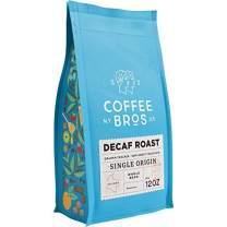 Coffee Bros., Decaf Coffee Beans, Whole Bean, Medium Roast, 100% Arabica Coffee Beans, Gourmet Coffee, 12oz