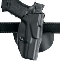 """Safariland 6378, ALS Concealment Paddle and Belt Loop Combo Holster, Fits: K Frame M&P 4"""", Black - STX Plain, Left Hand"""