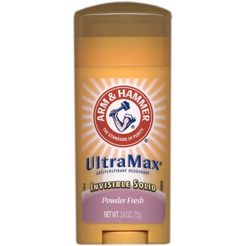 Arm and Hammer Ultramax Deodorant and Antiperspirant - Powder Fresh, 2.60 Ounce (Pack of 8)