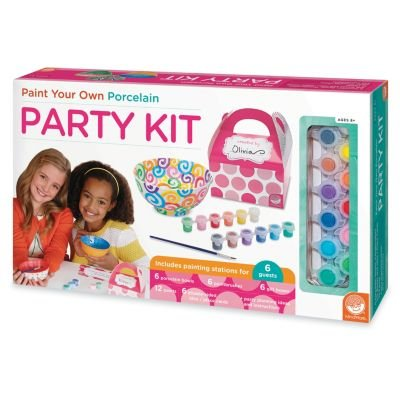 Paint Your Own Porcelain Party Kit