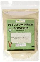 Indus Organics Psyllium Husk Powder, 1 Lb Bag (1x3) , Premium Grade, High Purity, Freshly Packed
