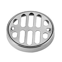 Westbrass D317-51 Frank Pattern Shower Strainer Grill and Crown - Powder Coat Almond