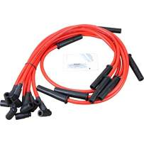 Dragon Fire Race Series High Performance Ignition Spark Plug Wire Set Compatible Replacement For Buick Pontiac 265 301 350 389 400 421 428 455 V8 Oem Fit PWJ122