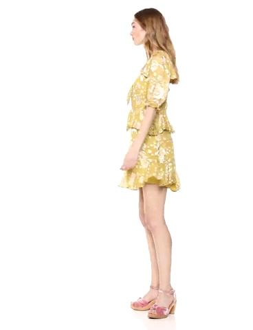 For Love & Lemons Women's Cosmo Mini Dress