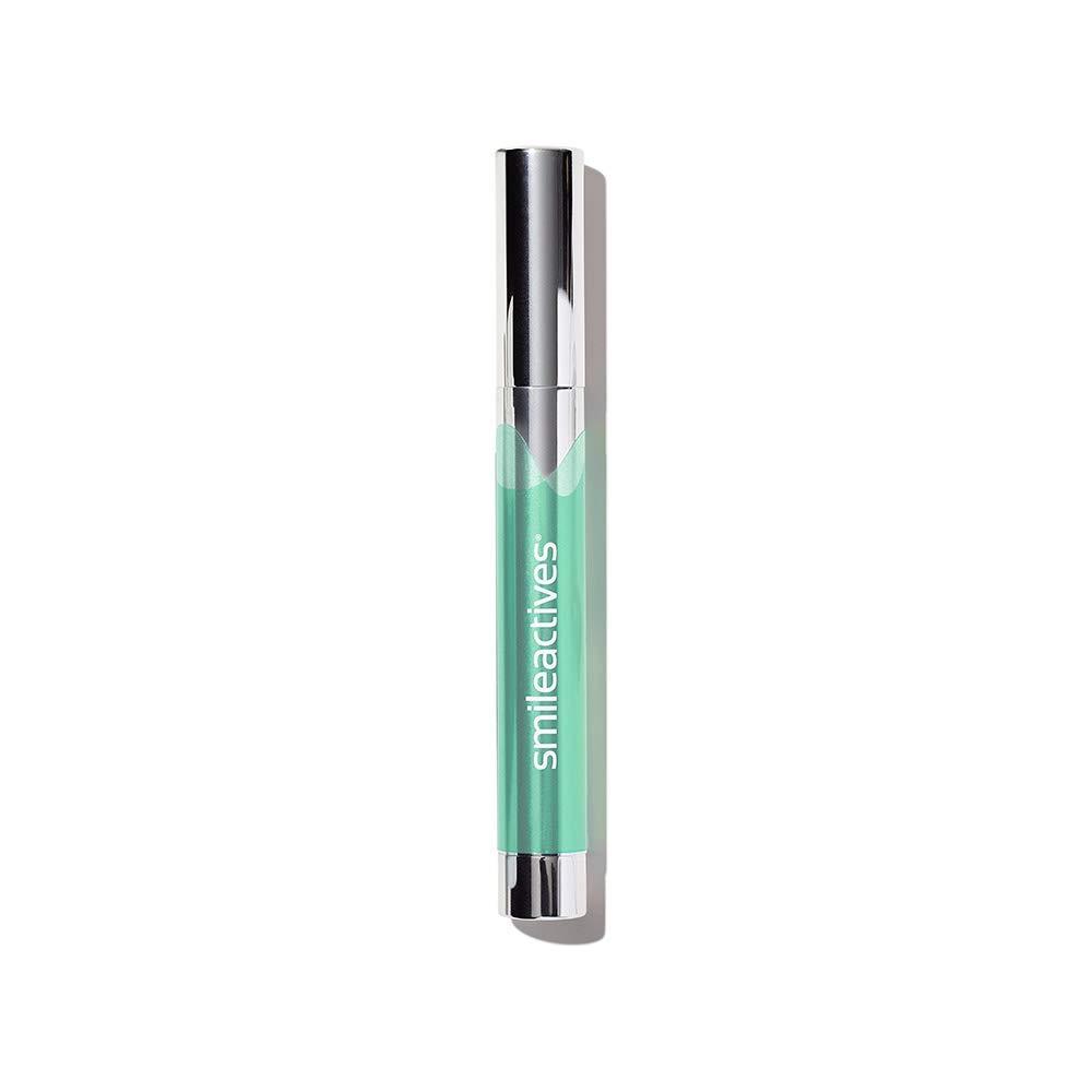 Smileactives – Advanced Teeth Whitening Pen – Hydrogen Peroxide Treatment with Spearmint Splash Flavor – 0.11 Ounce