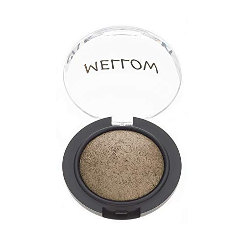 Baked Eyeshadow (Bronze) - Creamy Long Lasting Eye Shadow for Everyday Makeup - Highly Pigmented Vegan, Cruelty-Free & Paraben Free Eye Makeup by Mellow Cosmetics - Bronze - Bronze