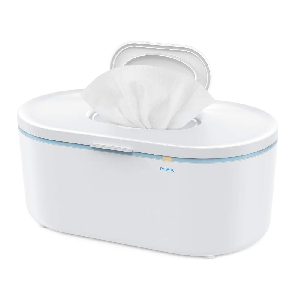 Wipe Warmer Eccomum Baby Wipe Warmer with Soft Lighting, Large Capacity, Evenly and Quickly Overall Heating, Super Silent, Perfect Wipe Temperature