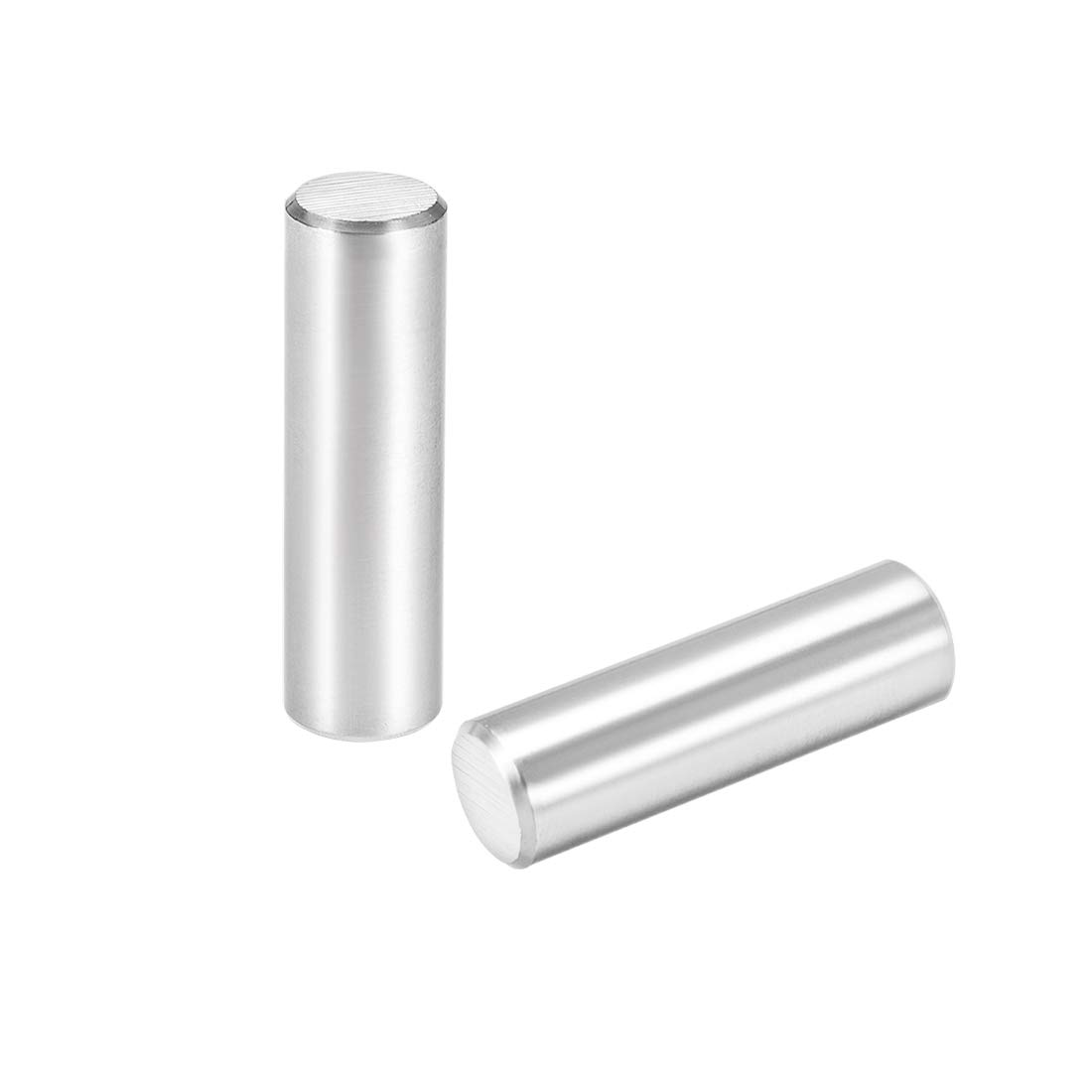 """uxcell 12 x 40mm(Approx 15/32"""") Dowel Pin 304 Stainless Steel Wood Bunk Bed Dowel Pins Shelf Pegs Support Shelves 2Pcs"""