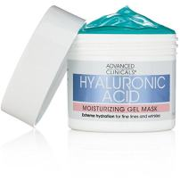 Advanced Clinicals Hyaluronic Acid Moisturizing Gel Mask with soothing chamomile. Extreme hydration for fine lines and wrinkles. Supersize 5 oz