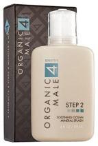 OM4 Sensitive Step 2 - Soothing Ocean Mineral Splash (4.0 oz) Organic & Natural Toner and Aftershave for sensitive skin