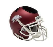 Schutt NCAA Arkansas Razorbacks Football Helmet Desk Caddy