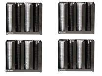 San Jamar (SAO7G) - PCL2 2 Portion Cup Lid Organizer, Black (Fоur Расk)