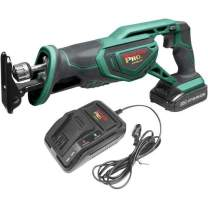 Grizzly PRO T30294X1-20V Reciprocating Saw Kit with Li-Ion Battery & Charger