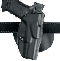 Safariland 6378, ALS Concealment Paddle and Belt Loop Combo Holster, Fits: S&W M&P(C) 9mm.40 & M&P 2.0 .40, Black - STX Plain, Left Hand
