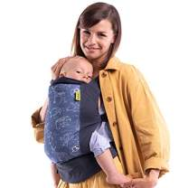 Boba Baby Carrier Classic 4Gs - Constellation - Backpack or Front Pack Baby Sling for 7 lb Infants and Toddlers up to 45 pounds