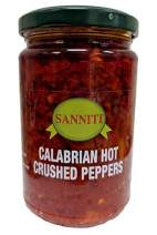 Sanniti Crushed Italian Calabrian Chili Peppers, 10 ounce