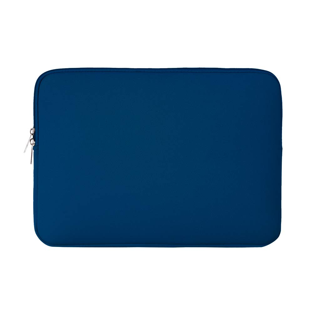RAINYEAR 13 Inch Laptop Sleeve Protective Case Padded Zipper Carrying Bag Specially Compatible with 2019 2020 New Model 13.3 MacBook Air/Pro/Retina/Touch Bar A1932 A1706 A1708 A2159 A2179(Navy Blue)