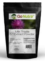Milk Thistle Seed Powder Extract 5:1 - 16 oz or 1 lb - (Silybum Marianum)