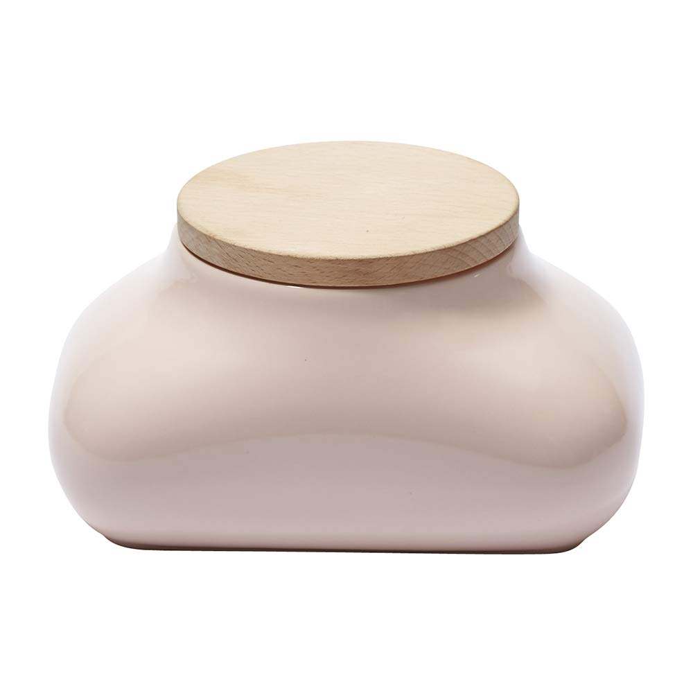 Ideaco Japan Designer Mochi Wet Wipes Tissue Dispenser with Concealed Tissue Box, Gloss Pink