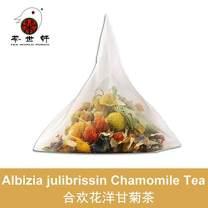 3G X 10PCS Albizia julibrissin Chamomile tea lavender Help Sleep Stevia Leaves Mix Tea Bag Relieve Stress