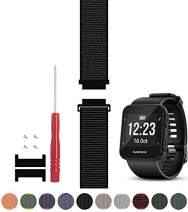 C2D JOY Compatible with Garmin Forerunner 35 Watch Band Replacement (Adapter, Screws and Screwdriver) Sport Mesh Strap Nylon Weave Garmin 35 Running Watch Accessories Watchband - 10#, S/5.0-7.0 in.
