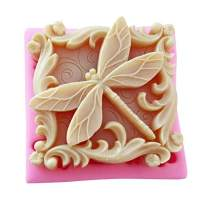 Silicone molds dragonflys, Insects Shape Craft Art Silicone Soap Mold, Rectangle Shape soap molds - Best Handmade Gifts - Soap Making Supplies by YSCENL