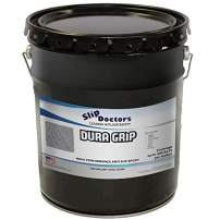 SlipDoctors Dura Grip (Black, 5-Gallon Pail) Non-Slip Paint