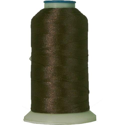 Threadart Polyester Machine Embroidery Thread By the Spool - No. 399 - Expresso - 1000M - 40wt - 220 Colors Available