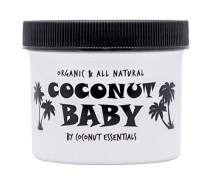 Coconut Baby Oil Organic Moisturizer - for Hair and Skin Care - Cradle Cap Treatment, Eczema and Psoriasis Relief - Massage - Sensitive Skin, Diaper Rash Guard, and Stretch Marks - with Sunflower & Grape seed oils - 4 fl oz