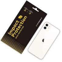 RhinoShield Back Protector [iPhone 11] | Impact Protection - High Strength Impact Damping/Dispersion Technology - Clear and Scratch/Fingerprint Resistant Protection